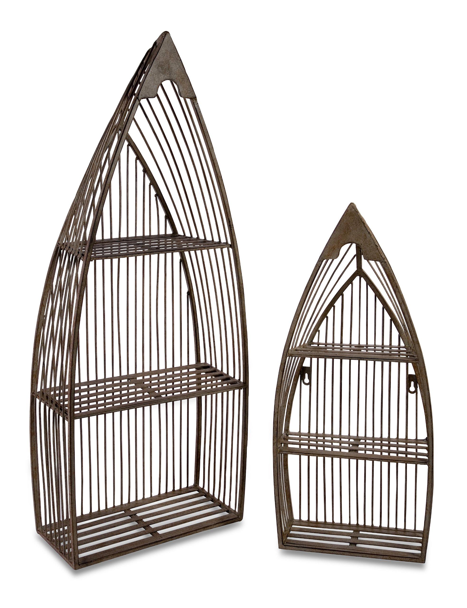 IMAX Nesting Boat Shelves, Set of 2