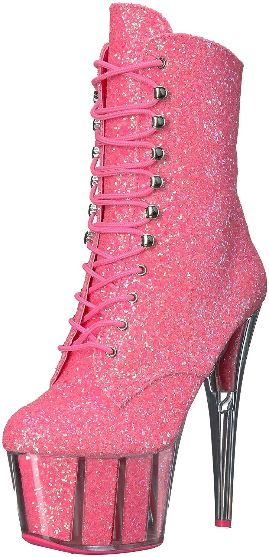 Pleaser B01ABTAFQ8 Women's Adore-1020G Ankle Boot B01ABTAFQ8 Pleaser 10 B(M) US|Neon Pink Glitter/Neon Pink Glitter 95f315