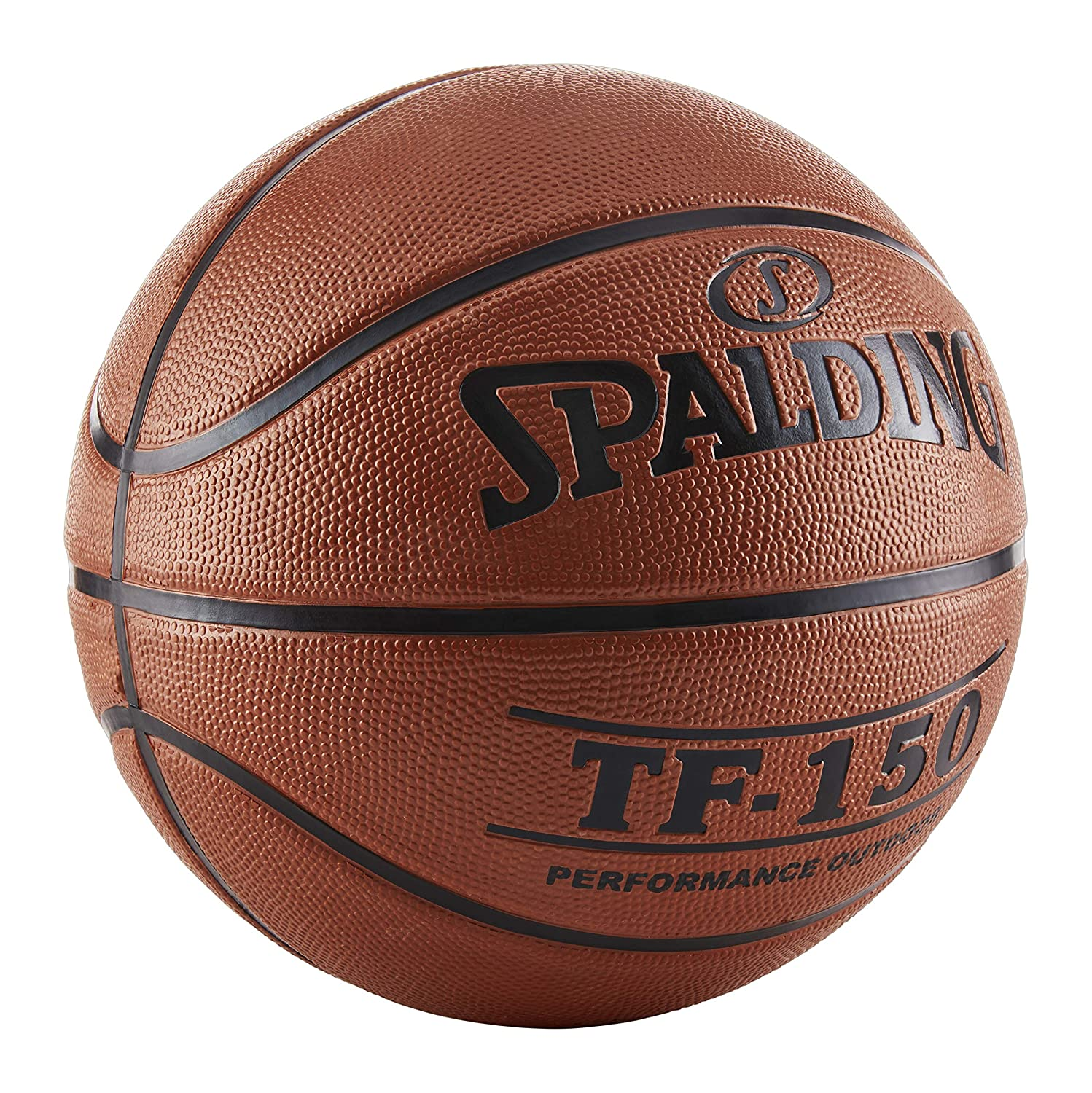 Spalding TF150 Quality Outdoor Rubber Basketball Size 7 Mens ball