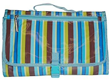 Blue Monkey Stripe Kalencom Quick Change Kit