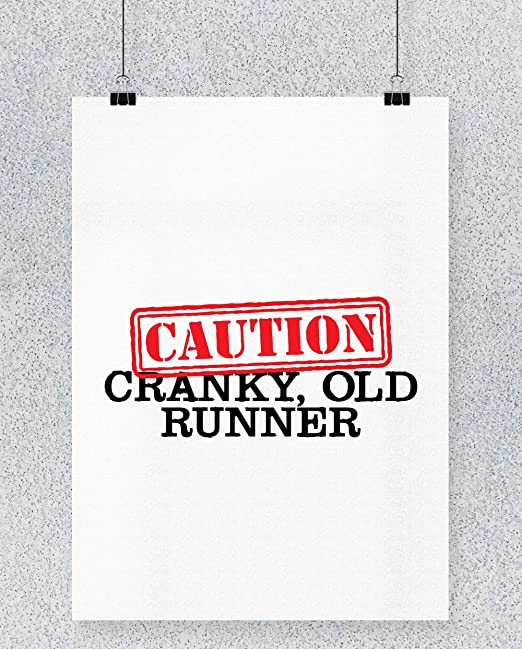 Compra Hippowarehouse Caution! Cranky, Old Runner Cartel ...