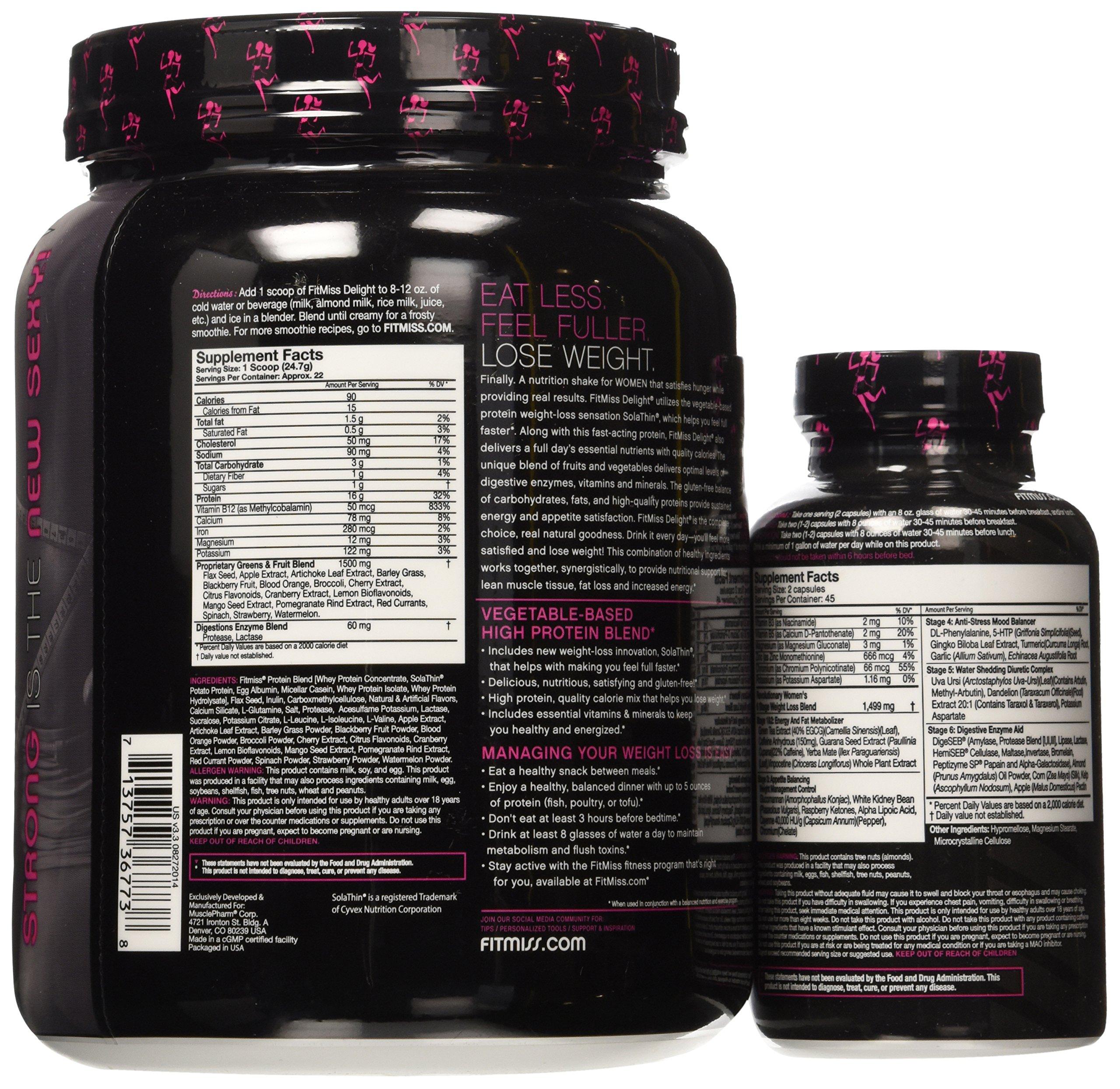 Muscle Farm Fitmiss Bizzy Diet Vanilla Chai Bundle