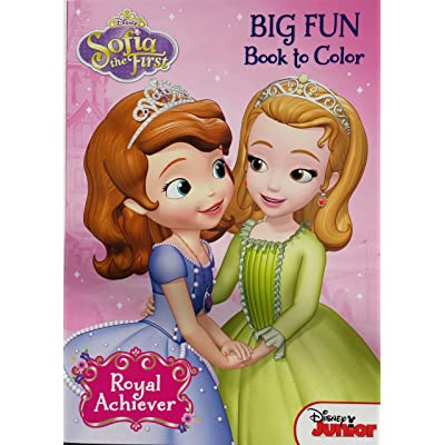 Disney Princess Sofia The First Royal Achiever Coloring & Activity Book: Toys & Games