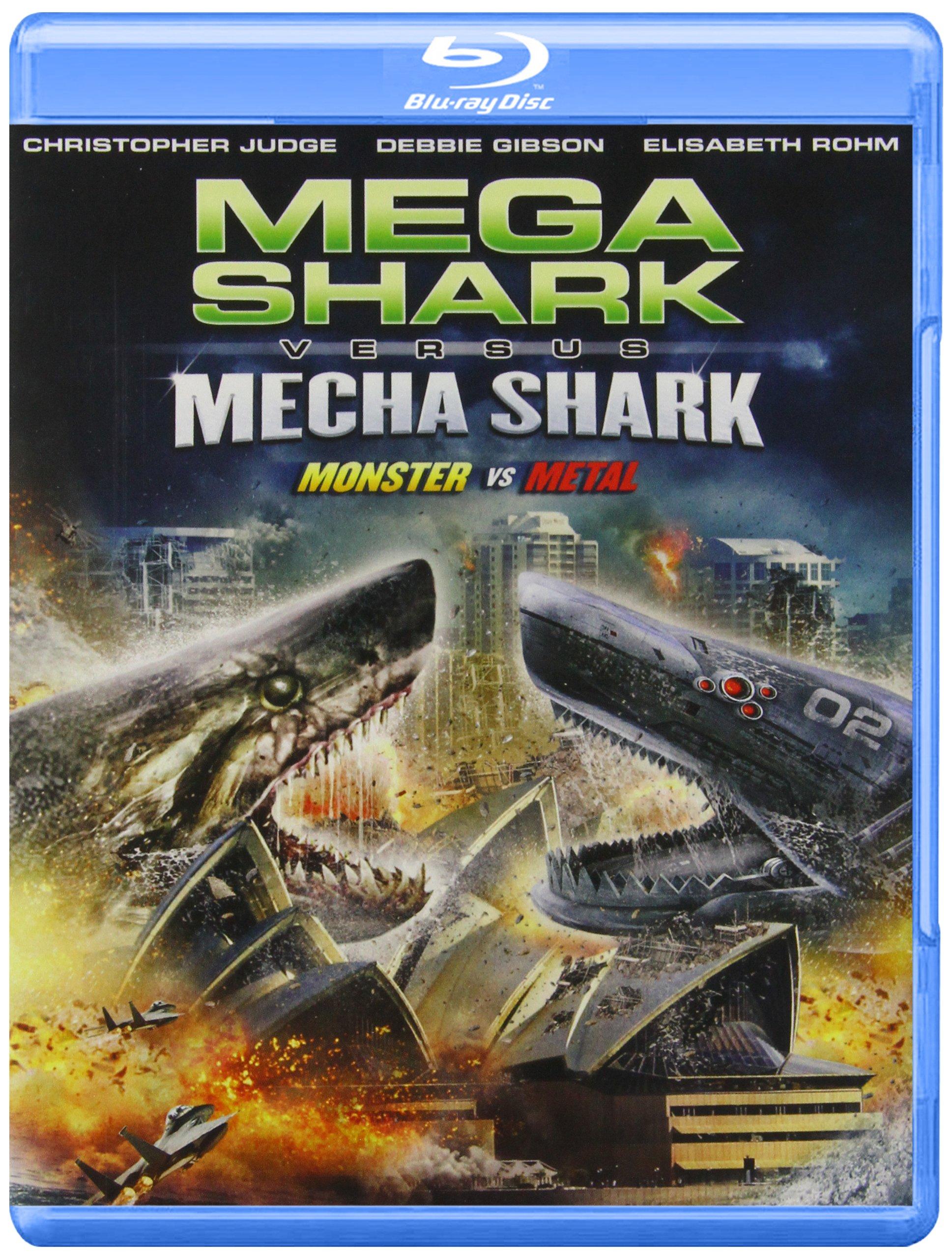 Blu-ray : Mega Shark Vs Mecha Shark (Blu-ray)