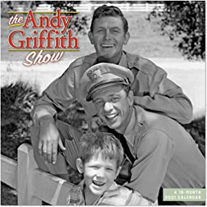 """2021 The Andy Griffith Show Wall Calendar, 12"""" x 12"""", Monthly (DDD3712821)"""