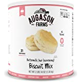 Augason Farms Buttermilk (No Leavening) Biscuit Mix 2 lbs 14 oz No. 10 Can