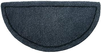uniflame gray handtufted hearth rug - Hearth Rug