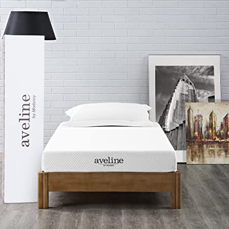 Amazon Com Modway Aveline 6 Gel Infused Memory Foam Twin Mattress