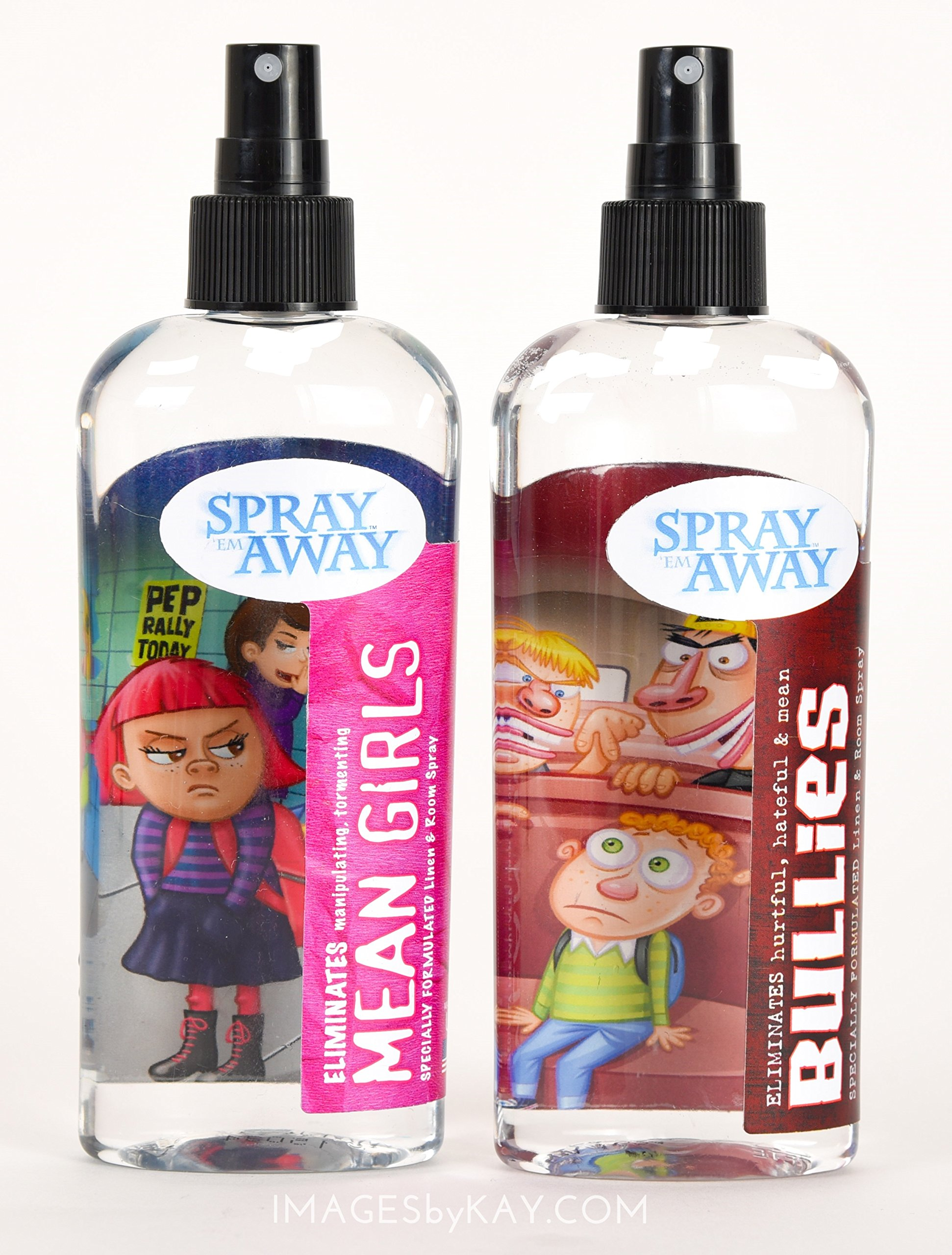 Spray Em Away - Bullies & Mean Girls Spray 2 pack