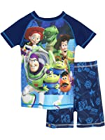 Disney Boys Toy Story Two Piece Swim Set