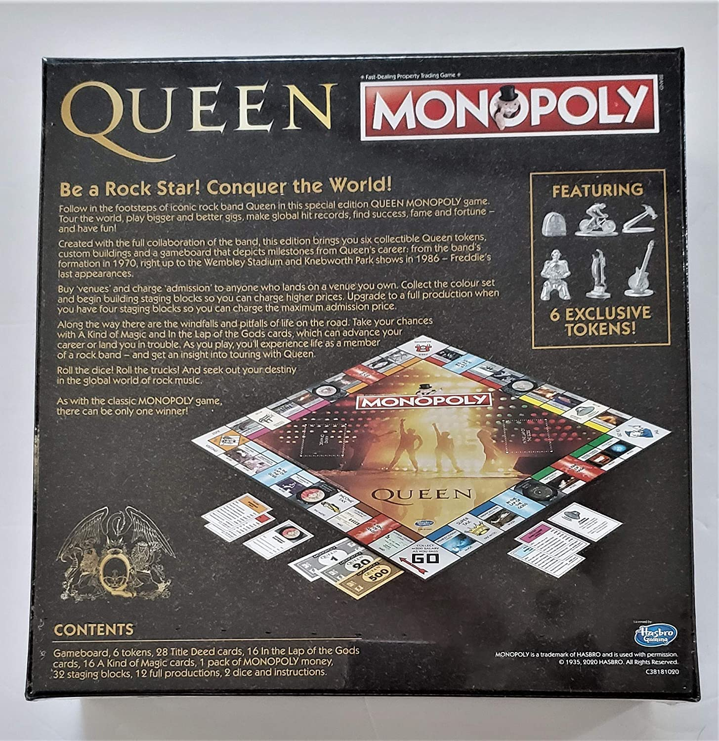 Monopoly Queen Edition: Amazon.es: Hogar