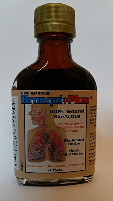 Amazon.com: Bronquiplus Bronqui+Plus Herbal Extract Syrup (8 fl. oz): Health & Personal Care