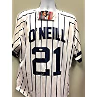 $99 » Paul O'Neill New York Yankees Signed Autograph White Pin Custom Jersey JSA Witnessed Certified