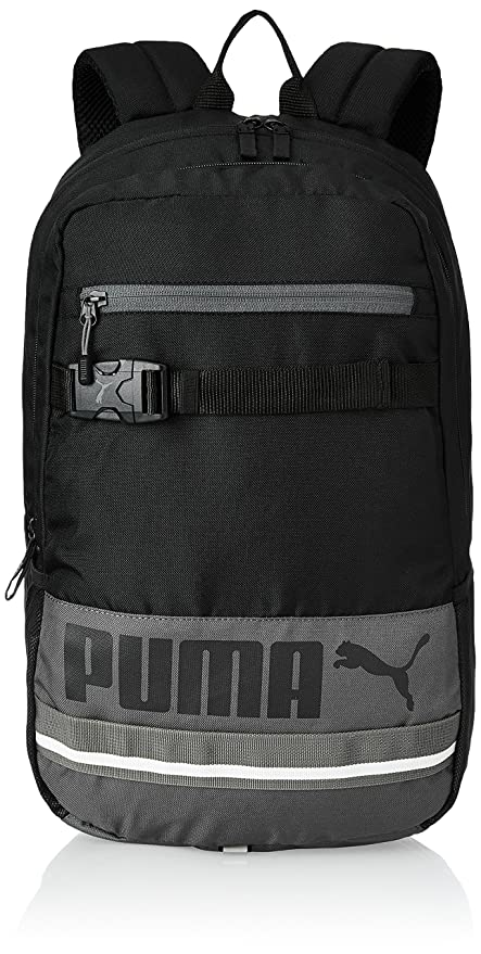 bace07690f95 Image Unavailable. Image not available for. Colour  Puma Black Casual  Backpack (7339301)