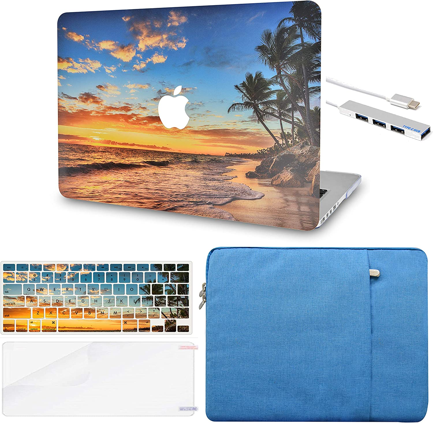LuvCase Laptop Case Compatible with MacBook Air 13
