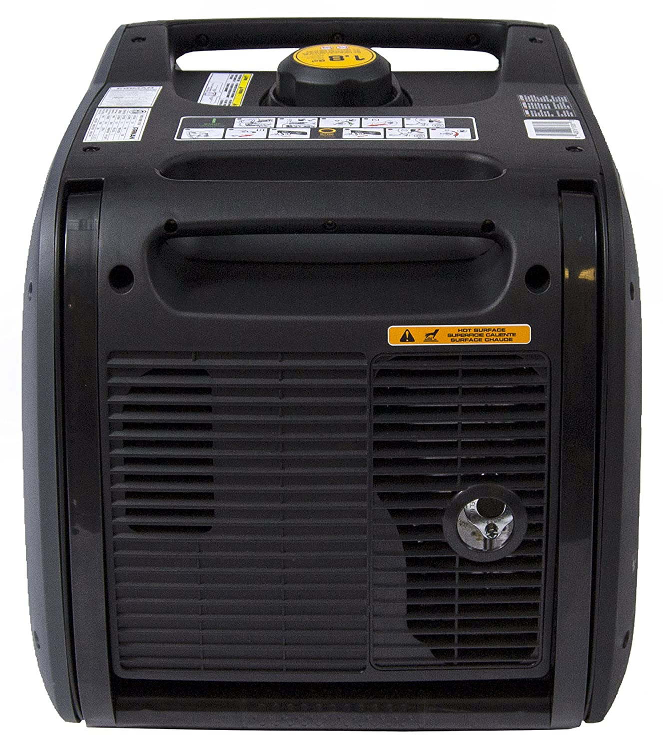 Amazon.com: Firman W03083 Whisper Series 3000/3300 Watt Inverter Generator, Yellow: Garden & Outdoor