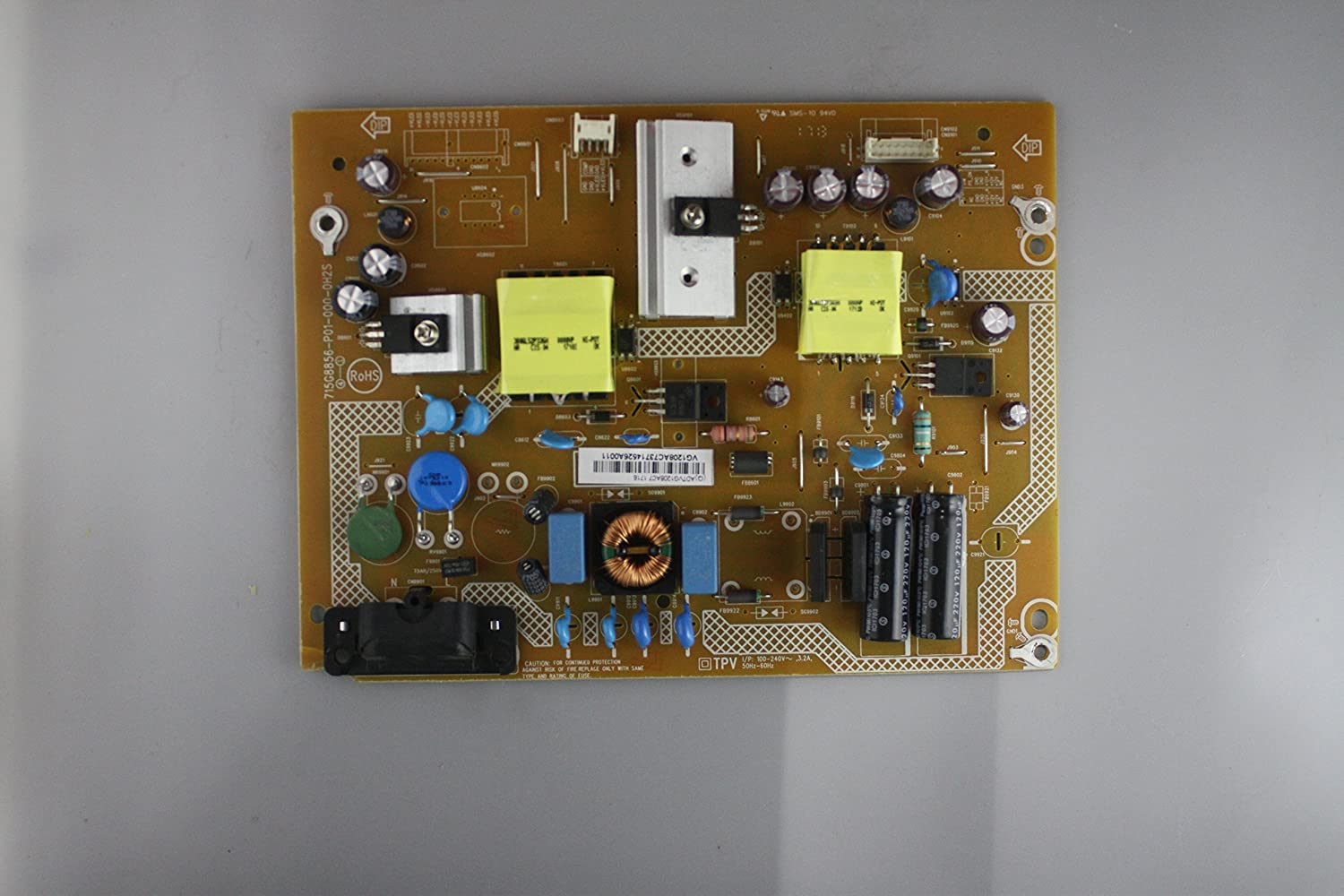 39 D39F-E1 LTTWVLAT ADTVG1208AC7 Power Supply Board Unit