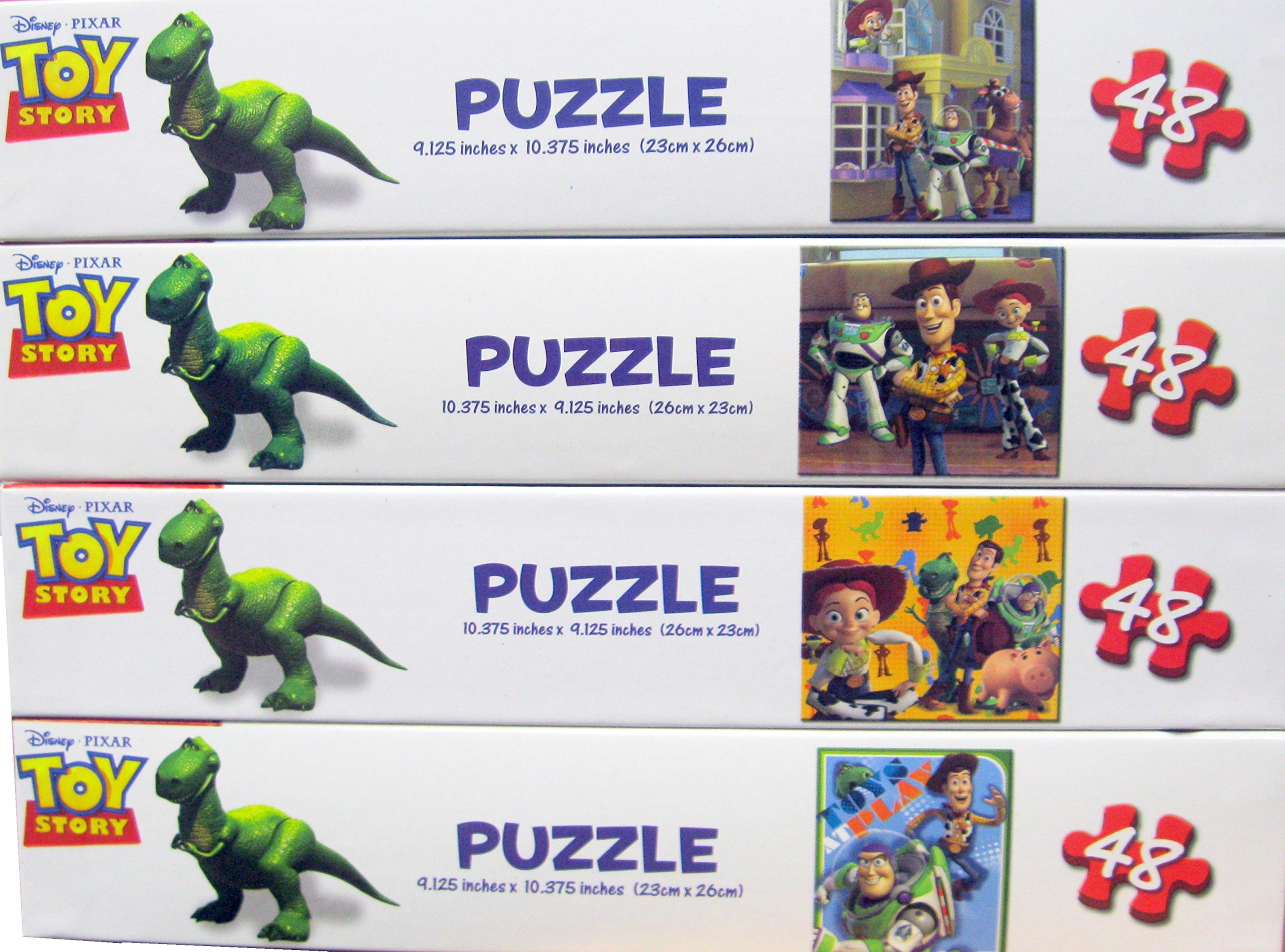 Disney Pixar Toy Story Children's Puzzles - Variety Pack (4 Total)