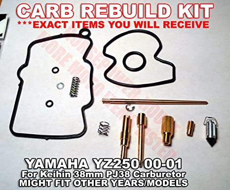 Carb Carburetor Rebuild Kit With O Ring Gasket