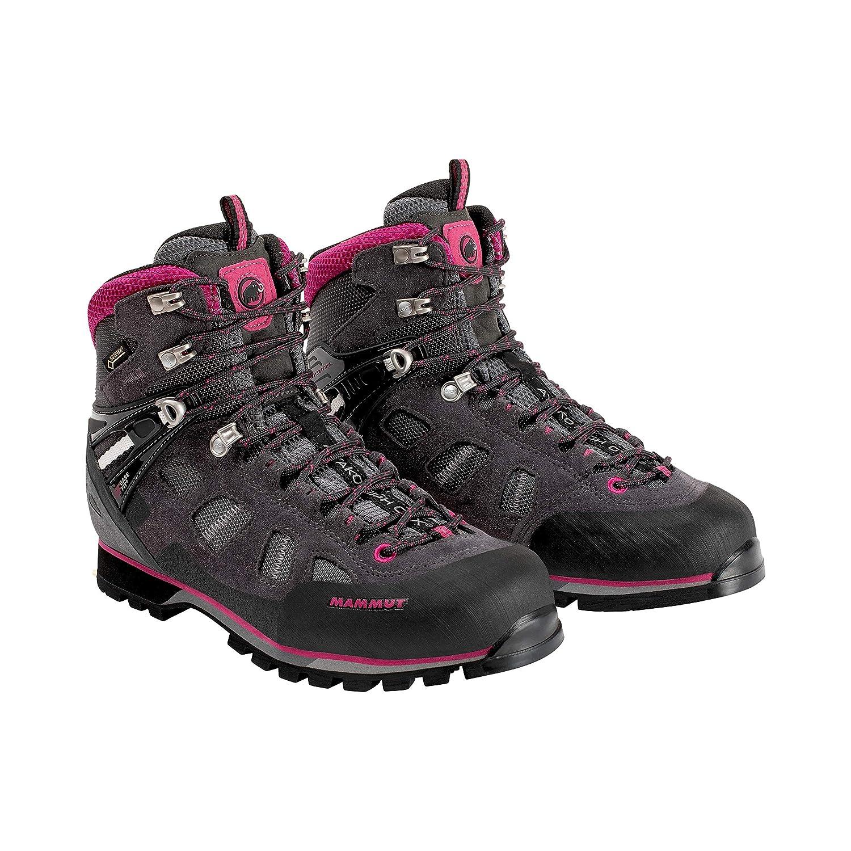 10 Womens Dark Titanium//Dark Pink Mammut Ayako High GTX Backpacking Boot