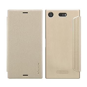 74c27d0c0f Nillkin Sony Xperia XZ1 Compact ケース 手帳型 カバー マグネット オートスリープ SO-02K 4.6
