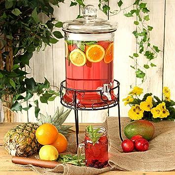 Compra Dispensador de bebidas Ronda con el soporte 168 oz / 4.8ltr | dispensador de la bebida, jugo dispensador, Punch dispensador, Lemonade dispensador en ...