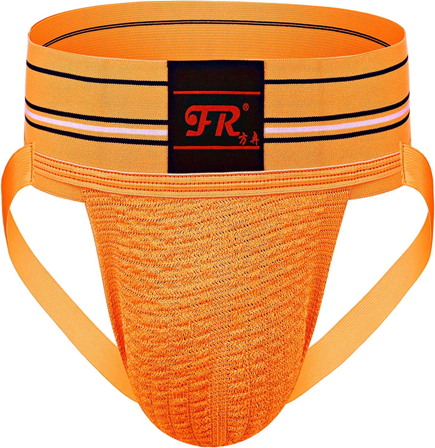 F plus R Mens Athletic Supporter Jockstrap With 3 Inch Wide Waistband