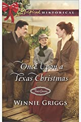 Once Upon a Texas Christmas (Texas Grooms (Love Inspired Historical)) Kindle Edition