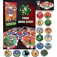 Vegas Golf High Roller Edition-Now con 15 Chips. Ahora Incluye un Chip de Cerveza Gratis