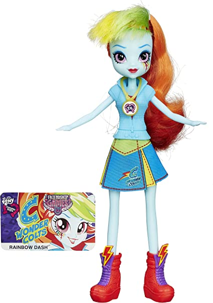 Amazon.com: My Little Pony Equestria Girls Rainbow Dash Friendship Games  Doll: Toys & Games