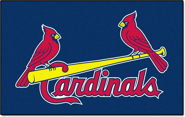 FANMATS MLB St Louis Cardinals Nylon Face Ultimat Rug
