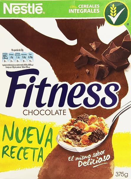 Nestlé Fitness Milk Chocolate - Cereales para el desayuno, 375 g