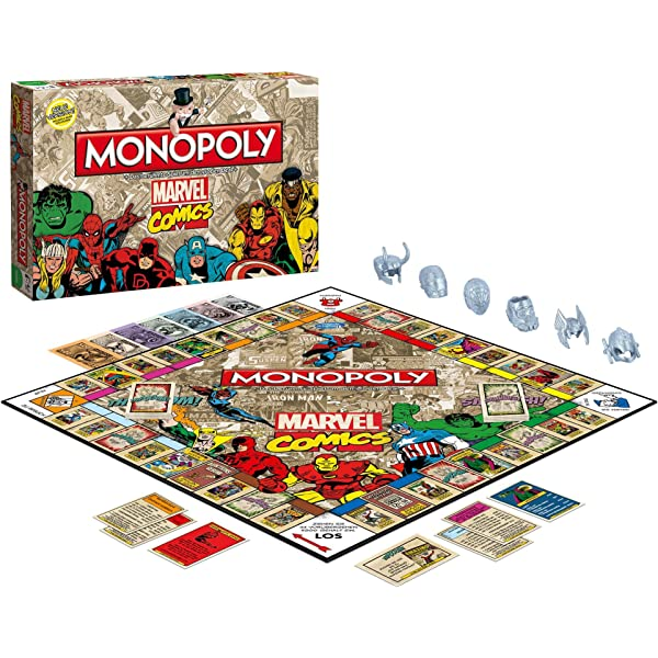 Monopoly Marvel Comics Retro: Amazon.es: Libros en idiomas extranjeros