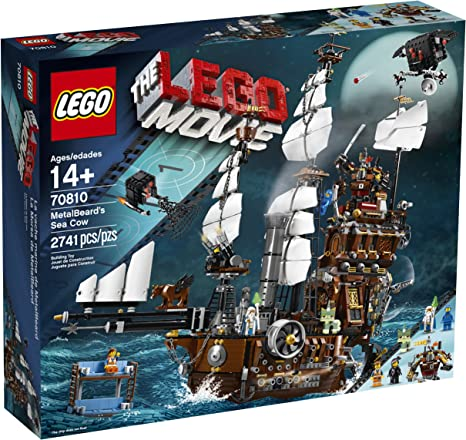 Amazon Com Lego Movie 70810 Metal Beard S Sea Cow Discontinued By Manufacturer Toys Games