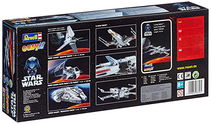 Amazon.com: Star Wars X-Wing Fighter Kit: Toys & Games