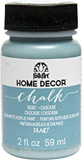product image for FolkArt 36307 Home Decor Chalk Furniture & Craft Paint in Assorted Colors, 2 ounce, Cascade