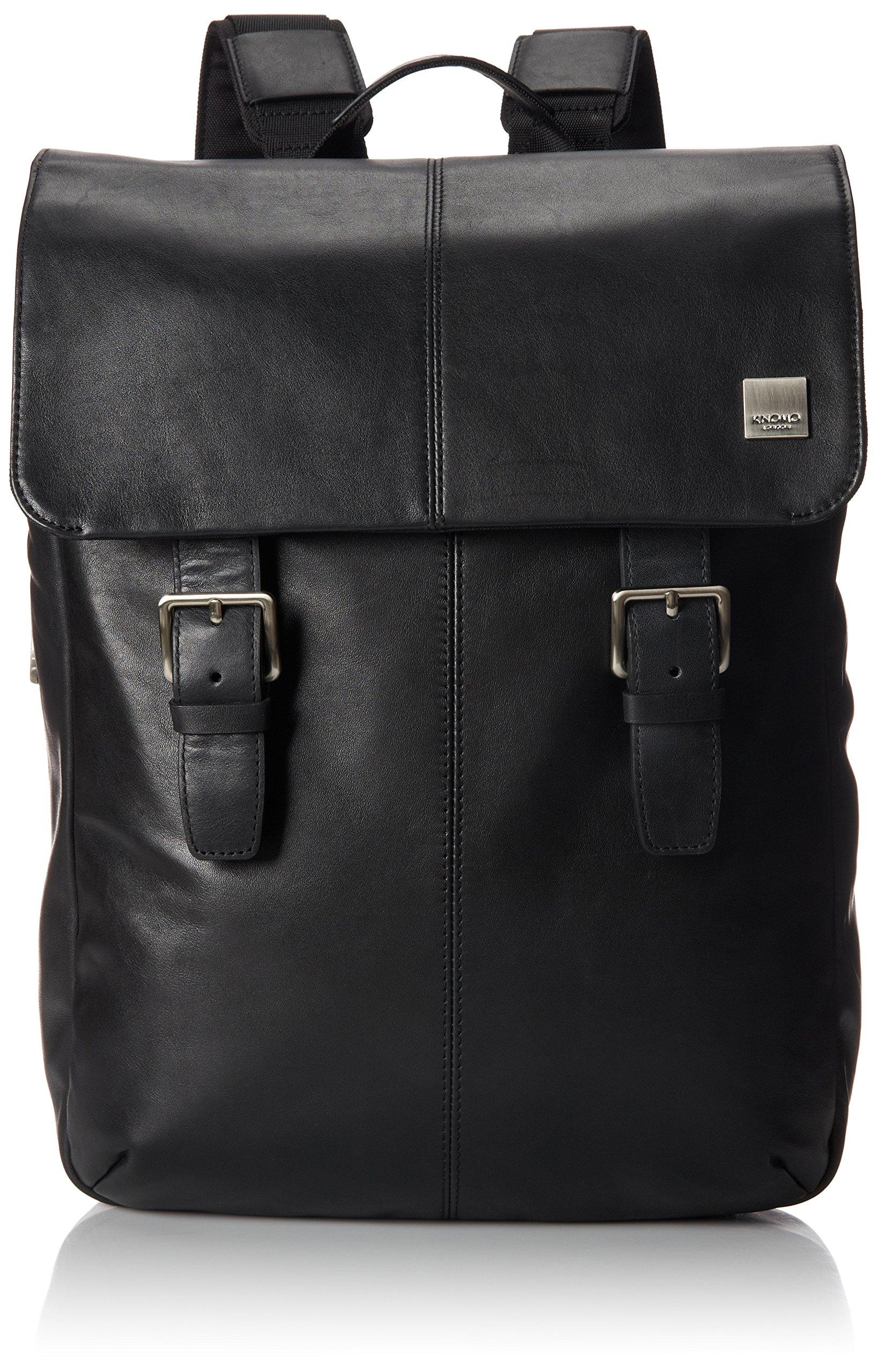 Knomo Luggage Hudson Business Backpack 11.8 X 15.7 X 3.5, Black, One Size