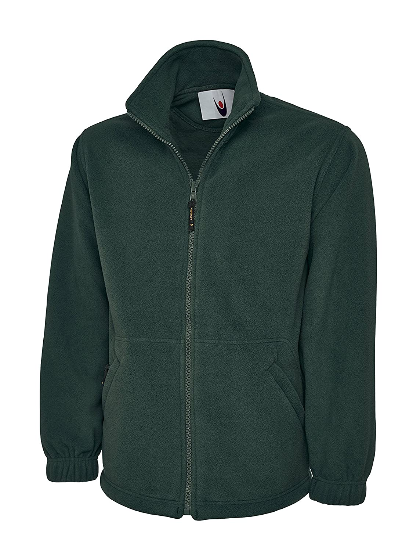 Monogram Adultos Classic Full Zip Fleece Jacket XS Negro, valor: negro: Amazon.es: Ropa y accesorios