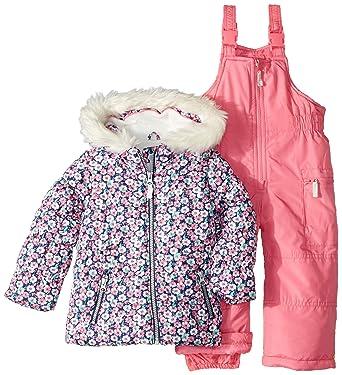 Carters Niñas Traje para Nieve - Rosado - 3 años: Amazon.es ...