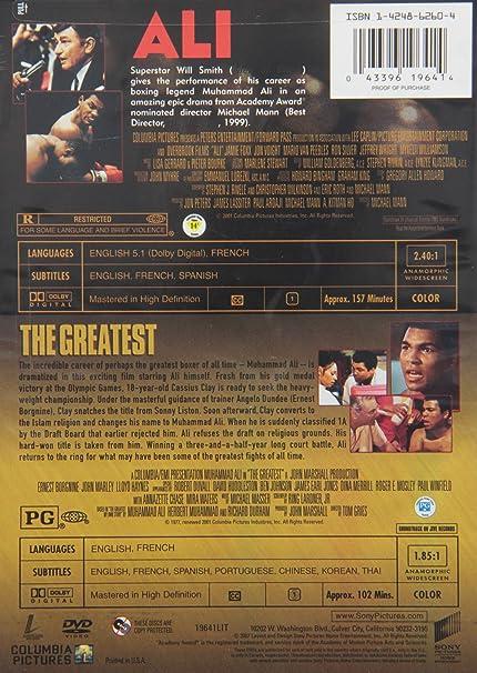 Amazon Alithe Greatest Will Smith Muhammad Ali Movies Tv