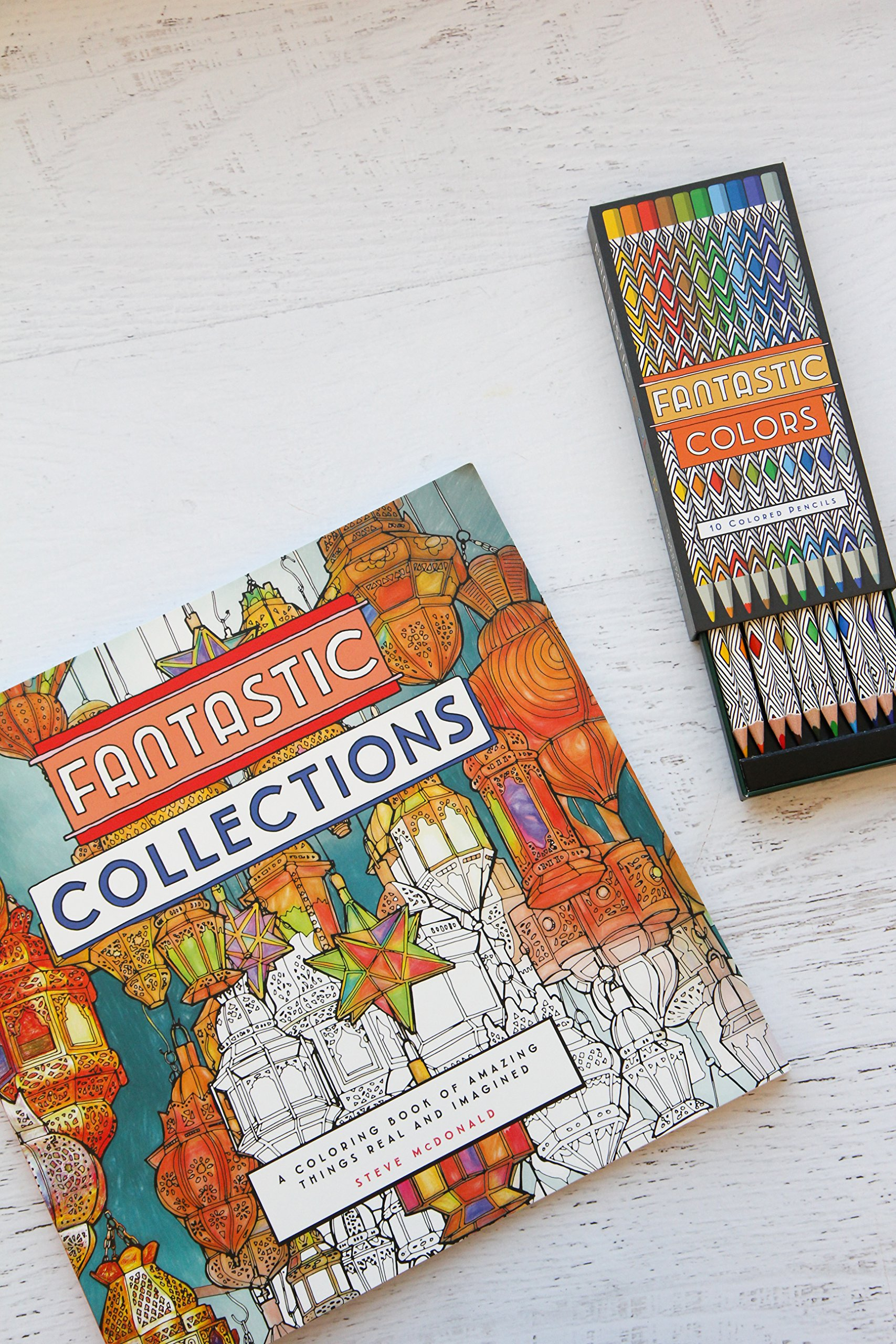 Fantastic Colors 10 Colored Pencils Steve McDonald 9781452159096 Amazon Books