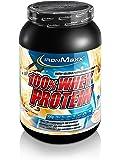 IronMaxx 100% Whey Proteinpulver / Vanille Eiweißpulver Whey für Proteinshake / Wasserlösliches Proteinpulver mit French Vanilla Geschmack / 1 x 900 g Dose