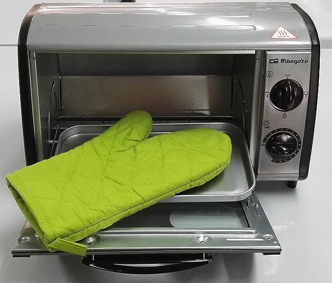 Orbegozo HO 810 A + MANOPLA - Mini horno-tostador multifunción ...