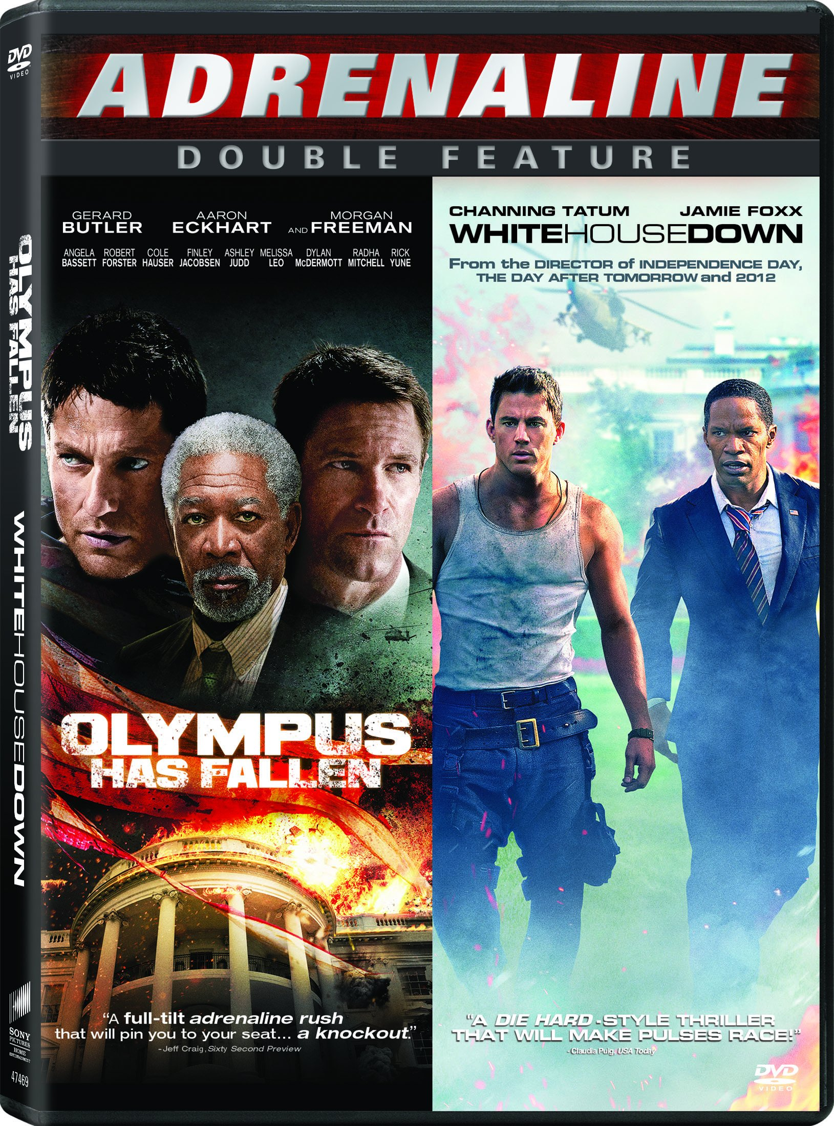 DVD : Olympus Has Fallen/ White House Down (Dolby, AC-3, Widescreen, Dubbed, )