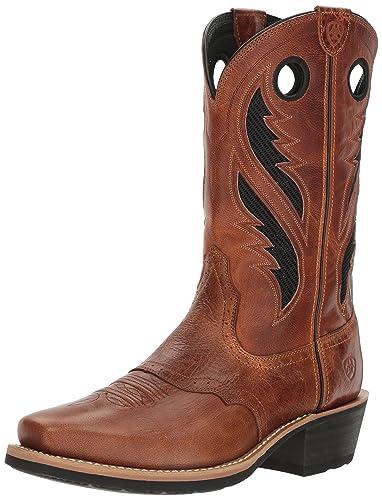 Ariat Men's Heritage Roughstock Venttek Cowboy Boot d7VApjlfgt