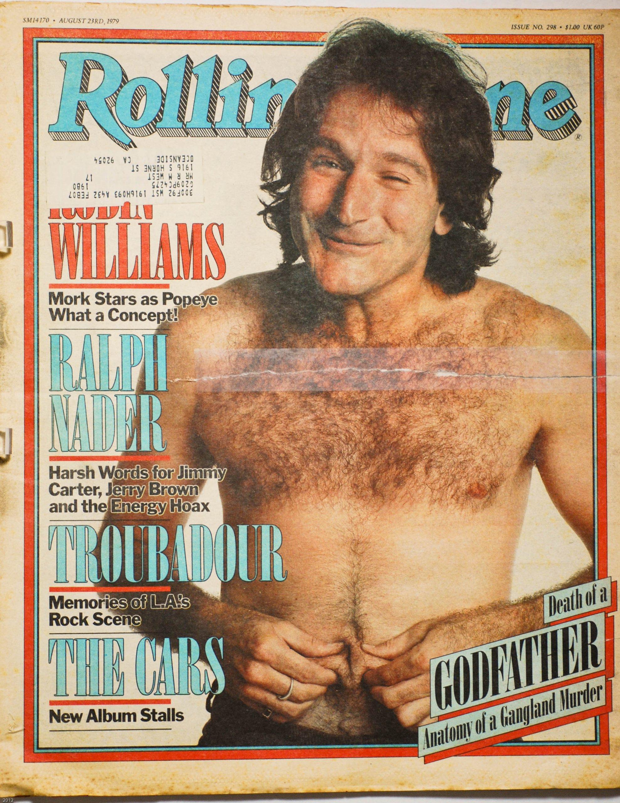 Rolling Stone Magazine: Aug. 23, 1979 Issue 298 - Robin Williams ...