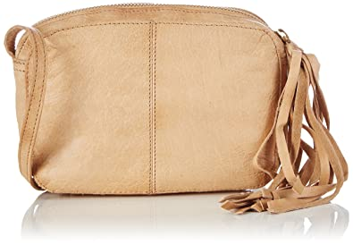 Damen Pcmylisia Leather Cross Over Bag Umhängetasche Pieces dt0W1by