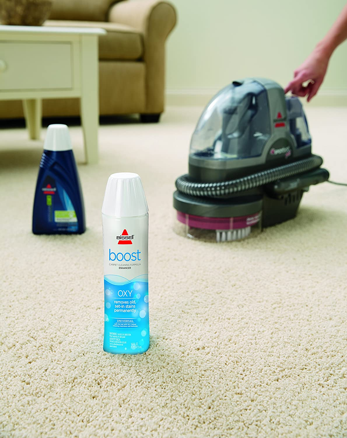 Bissell Oxy Boost Carpet Cleaning Formula Enhancer New
