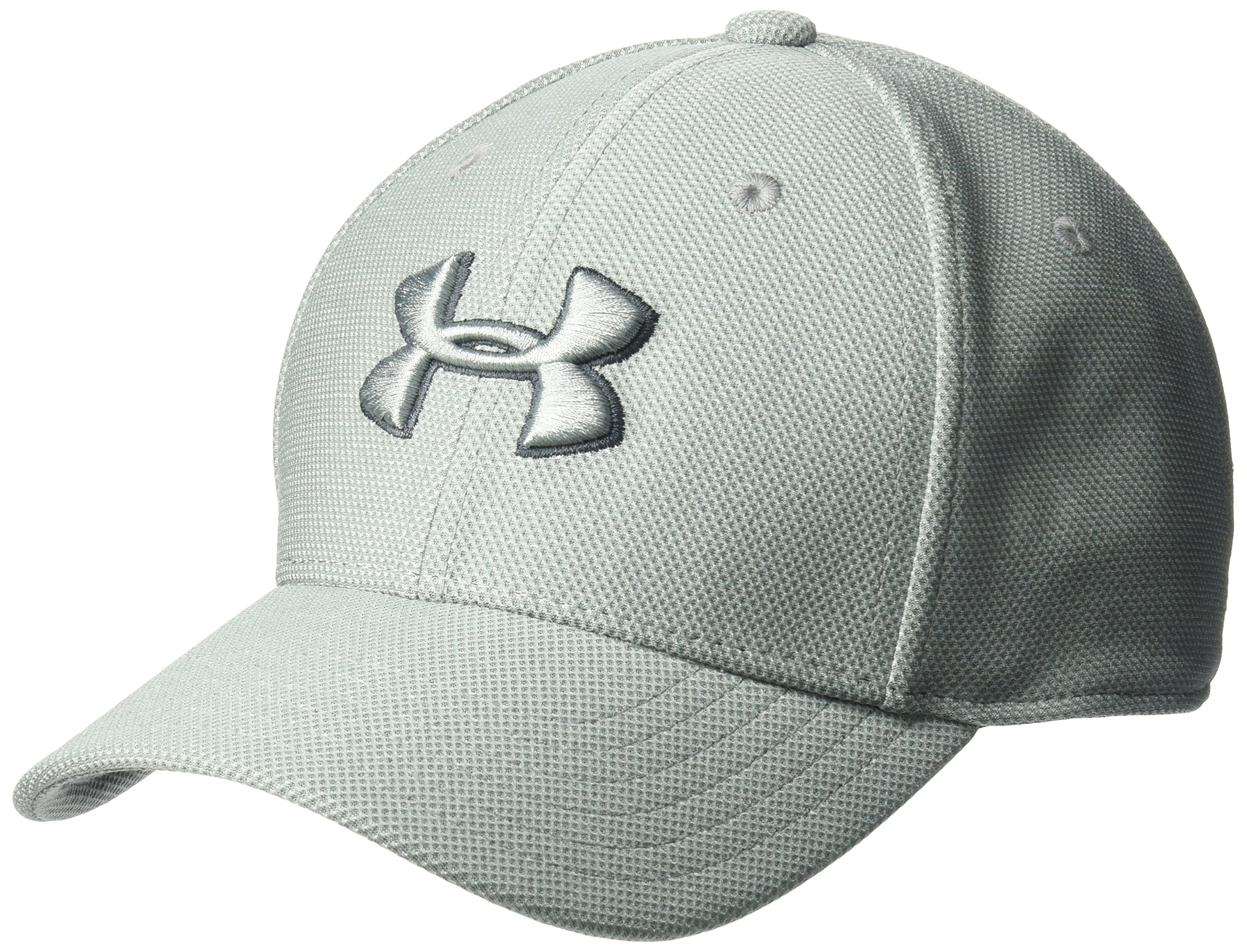 Under Armour Boys' Heathered Blitzing 3.0 Cap, Steel (035)/Steel, Youth X-Small/Small