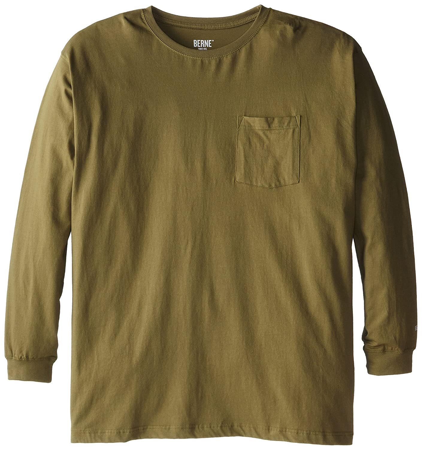 Berne Men's Big-Tall Heavyweight Long-Sleeve Pocket T-Shirt Berne Apparel Parent Code BSM23BT1